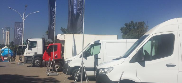 AMS-MB organise une journée de test drive de l'ensemble de sa gamme utilitaire