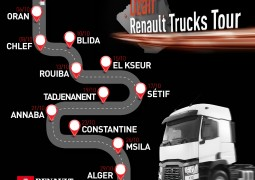 PHOTO - DZAIR RENAULT TRUCKS TOUR 2019