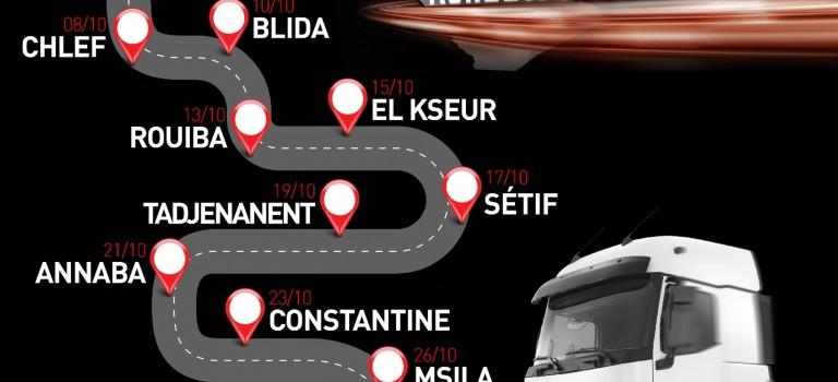 Renault Trucks  part en compagne à travers une caravane itinérante