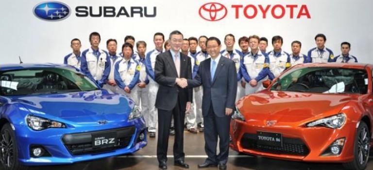 Toyota augmente ses parts dans le capital Subaru