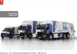 Visioconférence de Presse  de Bruno Blin : Renault-Trucks à l'ère du numérique