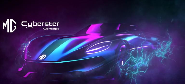 MG dévoile les premières images du concept car Cyberster:  un tout nouveau roadster purement électrique pour l'ère 5G