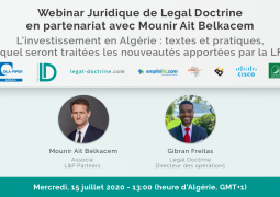 La start up Légal doctrine se lance dans les webinars pour informer sur les textes juridiques