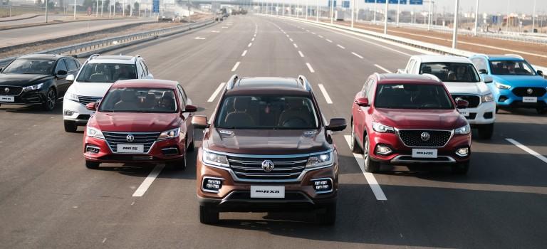 MG Motor dépase les 20 000 vente au premier semestre 2021 au Moyen-Orient